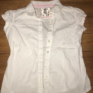 Girls size small Old Navy button up shirt